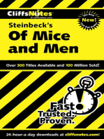 CliffsNotes on Steinbeck's Of Mice and Men
