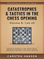 Catastrophes & Tactics in the Chess Opening - vol 8