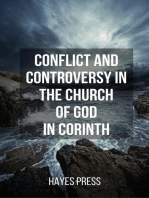 Conflict and Controversy in the Church of God in Corinth