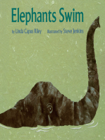 Elephants Swim