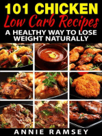 101 Chicken Low Carb Recipes