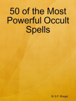 50 of the Most Powerful Occult Spells
