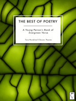 The Best of Poetry — A Young Person's Book of Evergreen Verse
