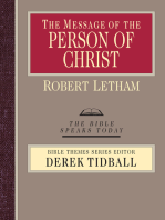 The Message of the Person of Christ