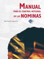 Manual para el control integral de las nóminas 2018