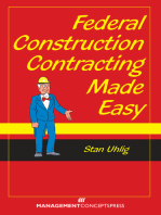 Federal Construction Contracting Made Easy