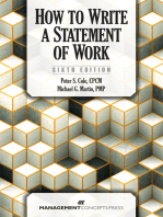 How to Write a Statement of Work