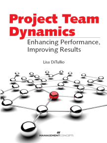 Project Team Dynamics: Enhancing Performance, Improving Results