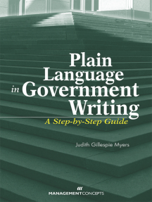 Plain Language in Government Writing: A Step-by-Step Guide