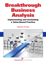 Breakthrough Business Analysis: Implementing and Sustaining a Value-Based Practice