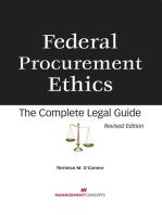 Federal Procurement Ethics
