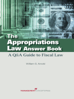 The Appropriations Law Answer Book