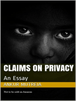 Claims on Privacy