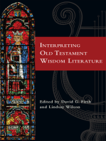 Interpreting Old Testament Wisdom Literature