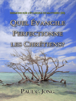 L'Evangile de Matthieu (III) - Quel Evangile Perfectionne Les Chretiens?
