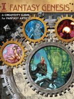 Fantasy Genesis: A Creativity Game for Fantasy Artists