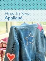 How to Sew - Applique