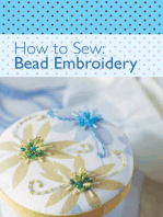 How to Sew - Bead Embroidery