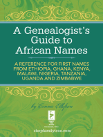 A Genealogist's Guide to African Names