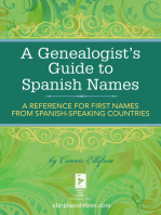A Genealogist's Guide to Spanish Names
