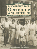 A Genealogist's Guide to Discovering Your Germanic Ancestors