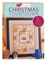 I Love Cross Stitch Christmas Countdown