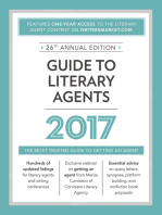 Guide to Literary Agents 2017