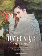 Hygge Knits: 9 cosy hygge style knitting patterns for sweaters, socks, slippers and more