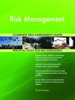 Risk Management Complete Self-Assessment Guide