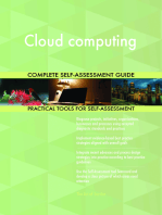 Cloud computing Complete Self-Assessment Guide