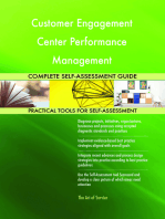 Customer Engagement Center Performance Management Complete Self-Assessment Guide