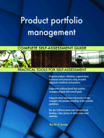 Product portfolio management Complete Self-Assessment Guide
