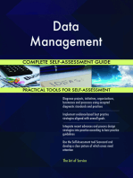 Data Management Complete Self-Assessment Guide