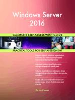 Windows Server 2016 Complete Self-Assessment Guide