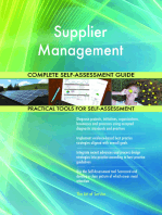 Supplier Management Complete Self-Assessment Guide