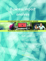 Business impact analysis Complete Self-Assessment Guide
