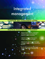 Integrated management Complete Self-Assessment Guide