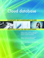 Cloud database Complete Self-Assessment Guide