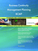 Business Continuity Management Planning BCMP Complete Self-Assessment Guide