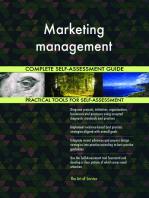 Marketing management Complete Self-Assessment Guide