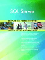 SQL Server Complete Self-Assessment Guide