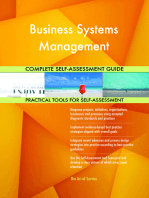 Business Systems Management Complete Self-Assessment Guide