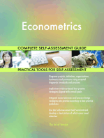 Econometrics Complete Self-Assessment Guide