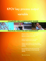 KPOV key process output variable Complete Self-Assessment Guide