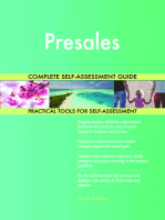 Presales Complete Self-Assessment Guide