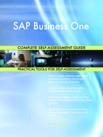 SAP Business One Complete Self-Assessment Guide