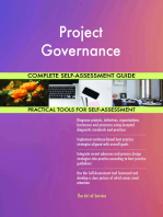 Project Governance Complete Self-Assessment Guide