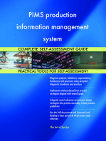 PIMS production information management system Complete Self-Assessment Guide