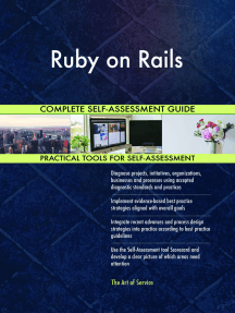 Ruby on Rails Complete Self-Assessment Guide