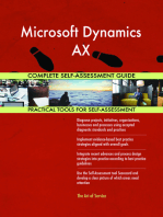Microsoft Dynamics AX Complete Self-Assessment Guide